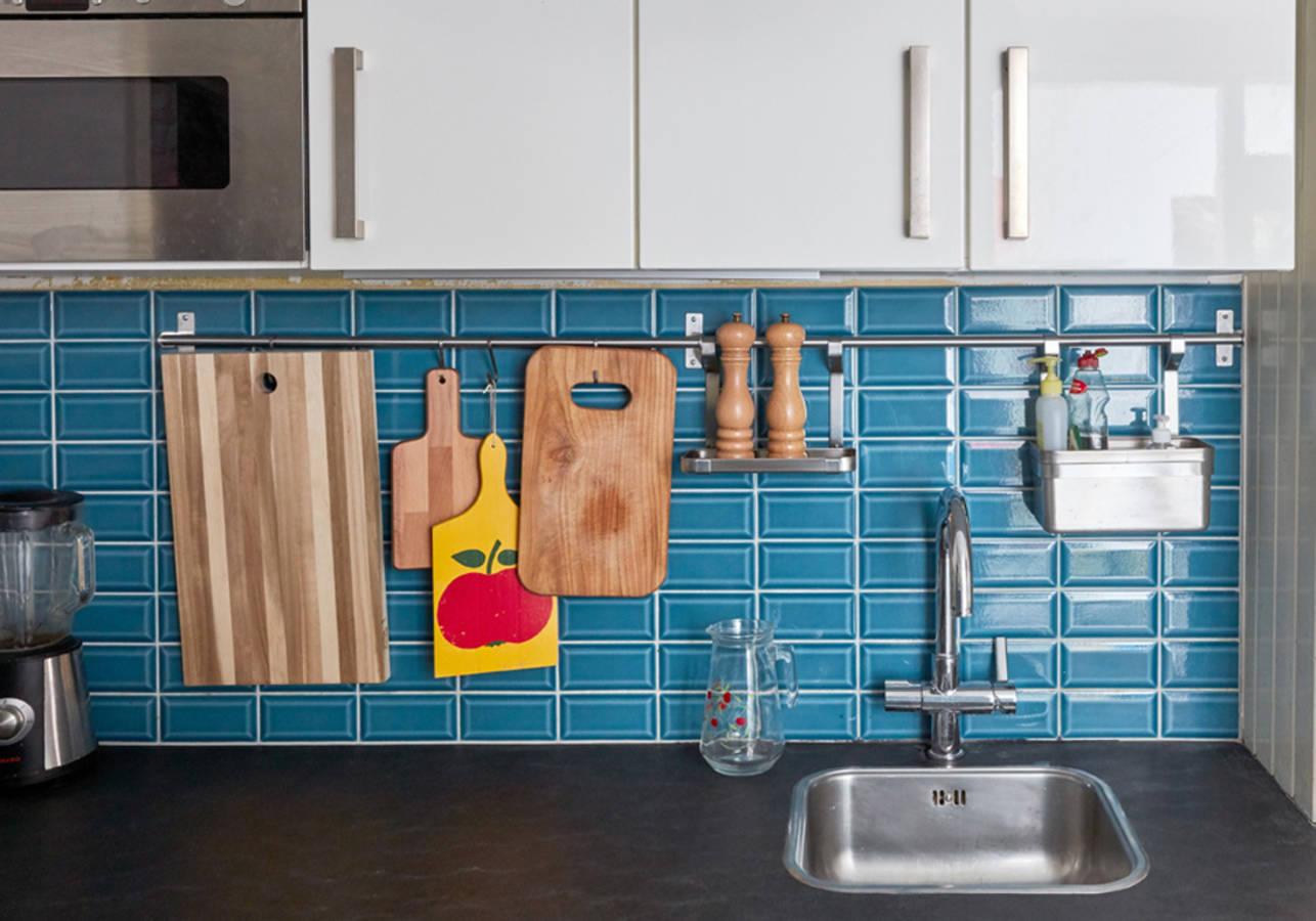15 astuces pour optimiser l 39 espace d 39 une petite cuisine des id es for Petite cuisine en l