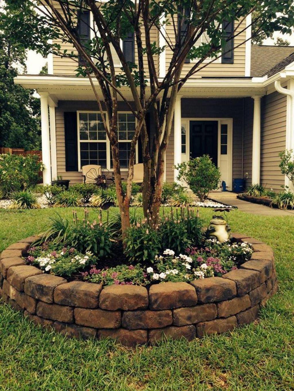 Image De Parterre De Fleurs 15 décorations à réaliser tout autour de votre arbre de jardin