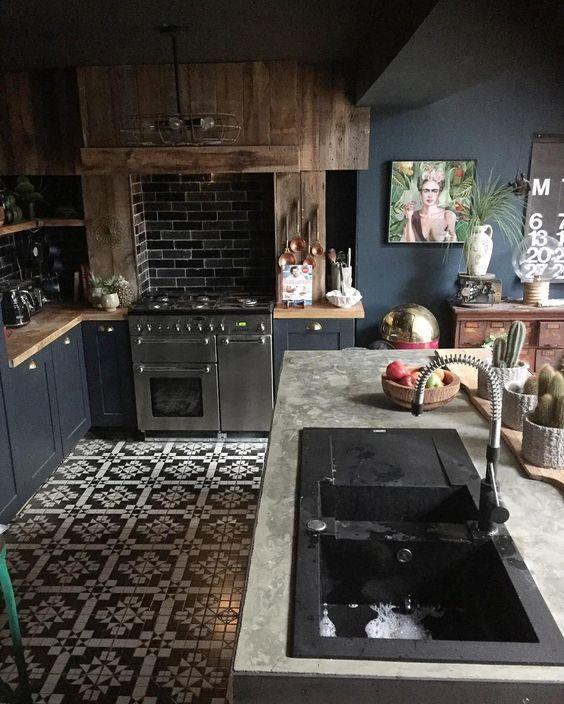 18 inspirations splendides pour une cuisine ouverte l. Black Bedroom Furniture Sets. Home Design Ideas