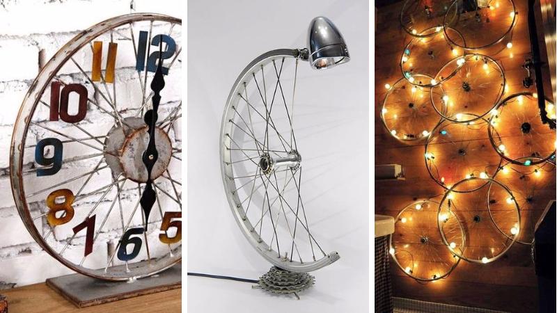Sensationnel Roue En Déco De Votre Vélo Idées Pour Objet Recycler 16 tCsrBhxQd