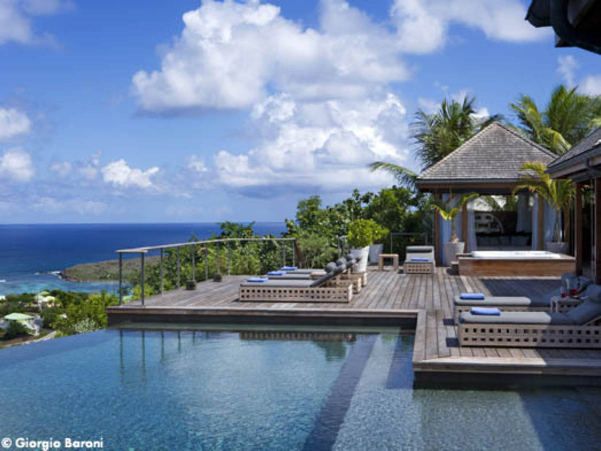 Johnny Hallyday Villa St Barth