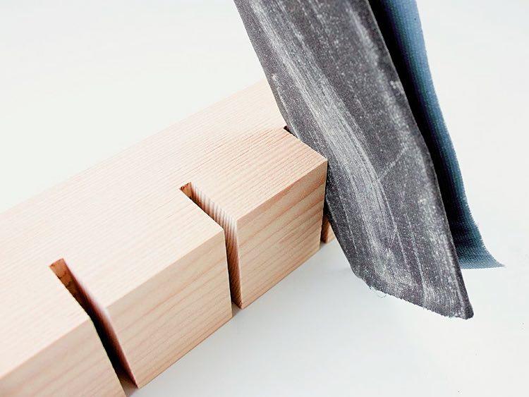 099172eb362d DIY   fabriquez un joli porte-clefs mural en bois ! - Des idées