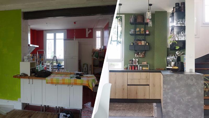 avant apr s la r novation stup fiante d 39 une meuli re dans l 39 essonne. Black Bedroom Furniture Sets. Home Design Ideas