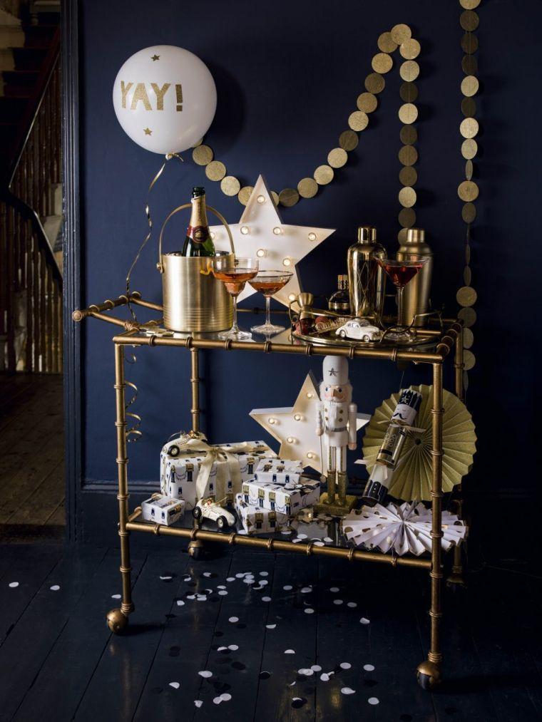 23 inspirations pour votre d coration du nouvel an des id es - Idee deco nouvel an ...