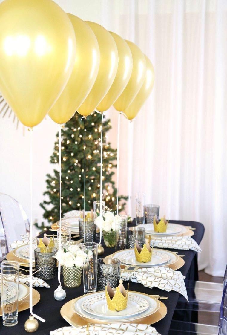 23 inspirations pour votre d coration du nouvel an des id es. Black Bedroom Furniture Sets. Home Design Ideas