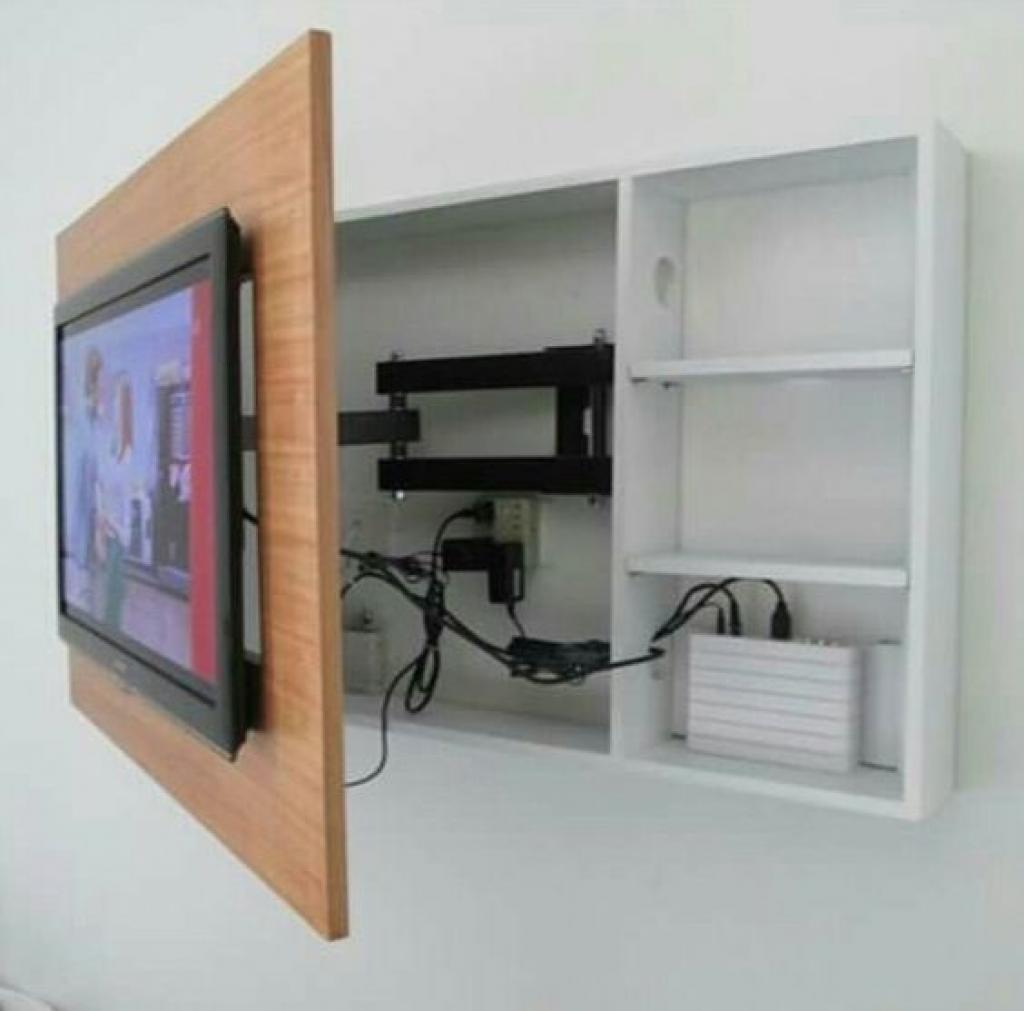 Idee Tv Au Mur 14 modèles d'intégration de télévision réussie