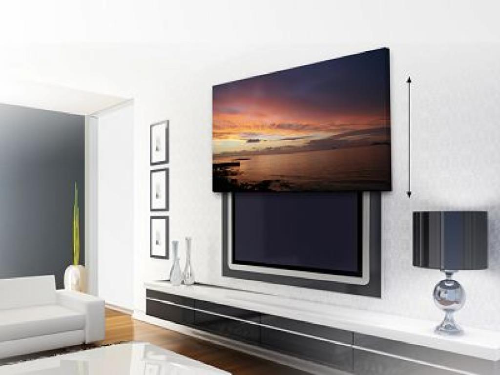 14 Mod Les D Int Gration De T L Vision R Ussie Des Id Es # Pan De Mur Avec Tv