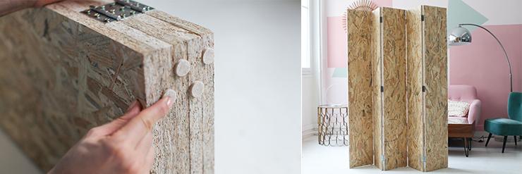 diy voici comment fabriquer votre propre paravent en bois des id es. Black Bedroom Furniture Sets. Home Design Ideas