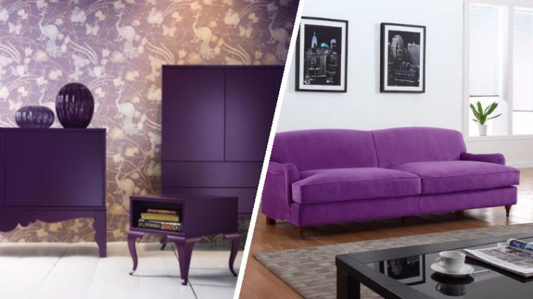 osez l 39 ultra violet lue couleur de l 39 ann e 2018 par pantone des id es. Black Bedroom Furniture Sets. Home Design Ideas