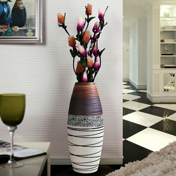29 Vases Somptueux à Poser Au Sol Pour Décorer Votre Intérieur