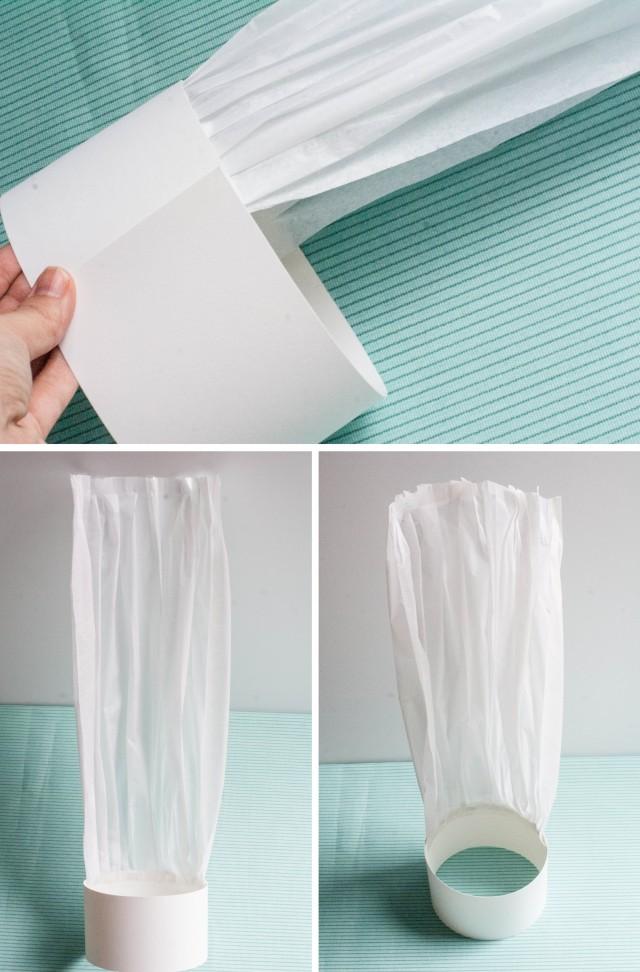 tuto osez la toque de chef cuisinier en papier des id es. Black Bedroom Furniture Sets. Home Design Ideas