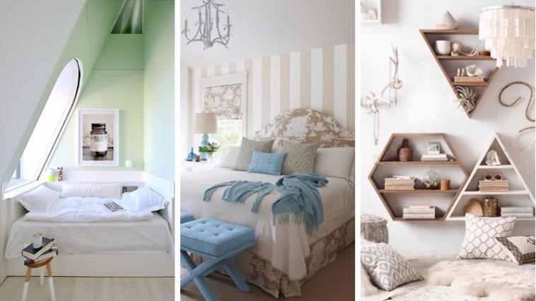 14 ides ingnieuses pour amnager une petite chambre