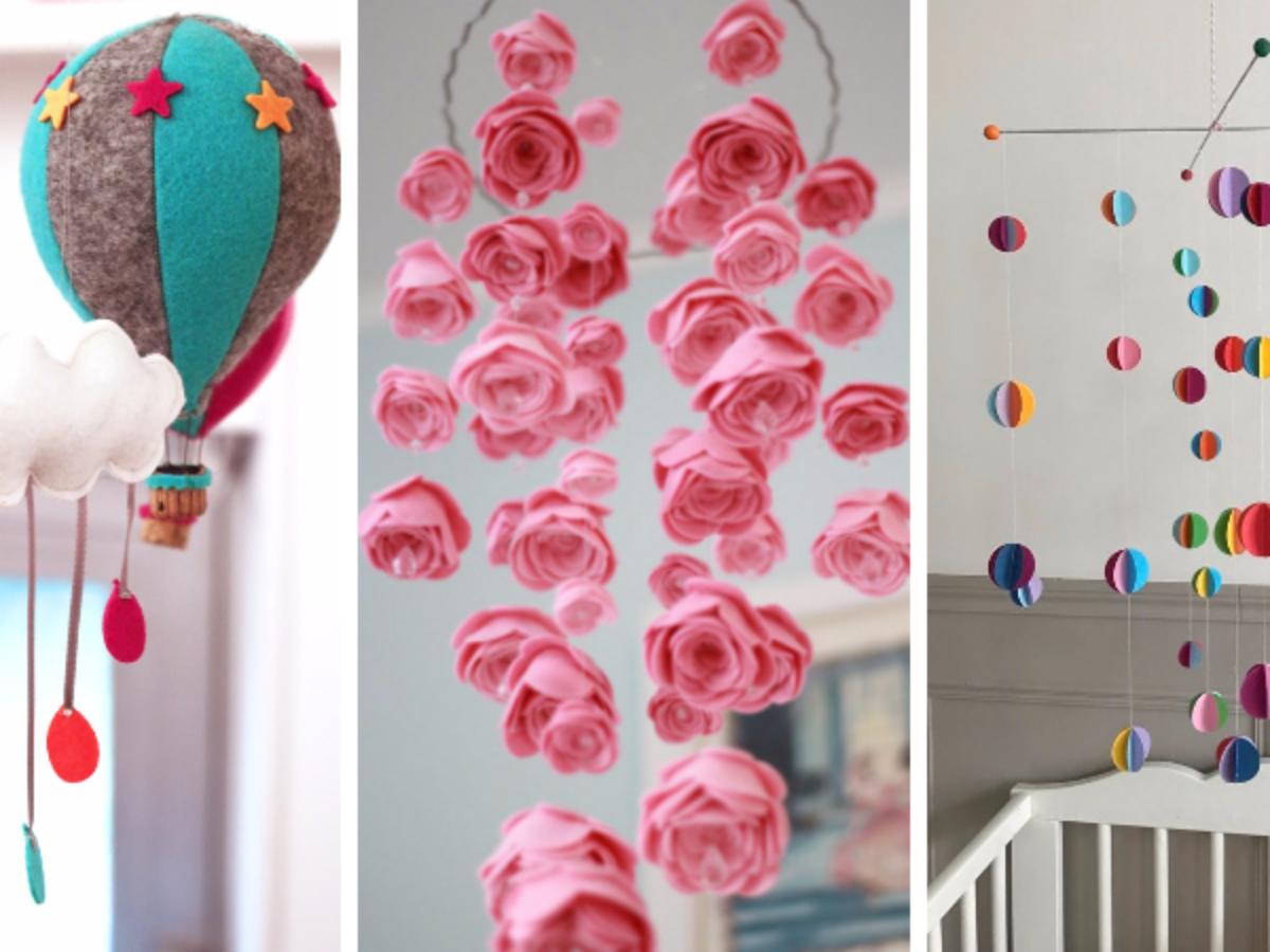 Deco Bebe A Faire Soi Meme 24 idées pour créer soi-même un joli mobile pour bébé !