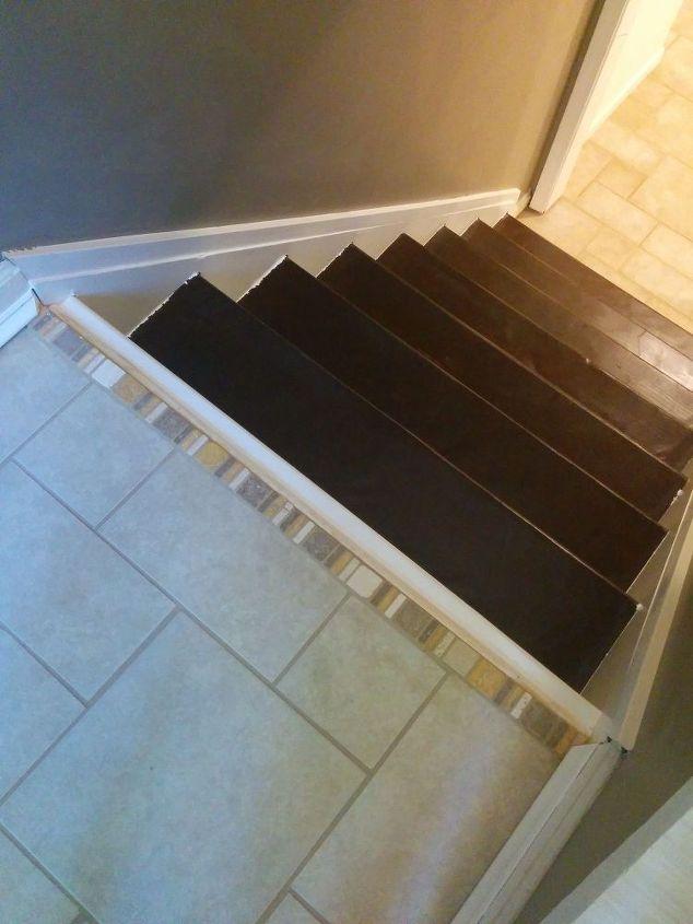 marre de votre escalier recouvert de moquette regardez cette belle restauration des id es. Black Bedroom Furniture Sets. Home Design Ideas