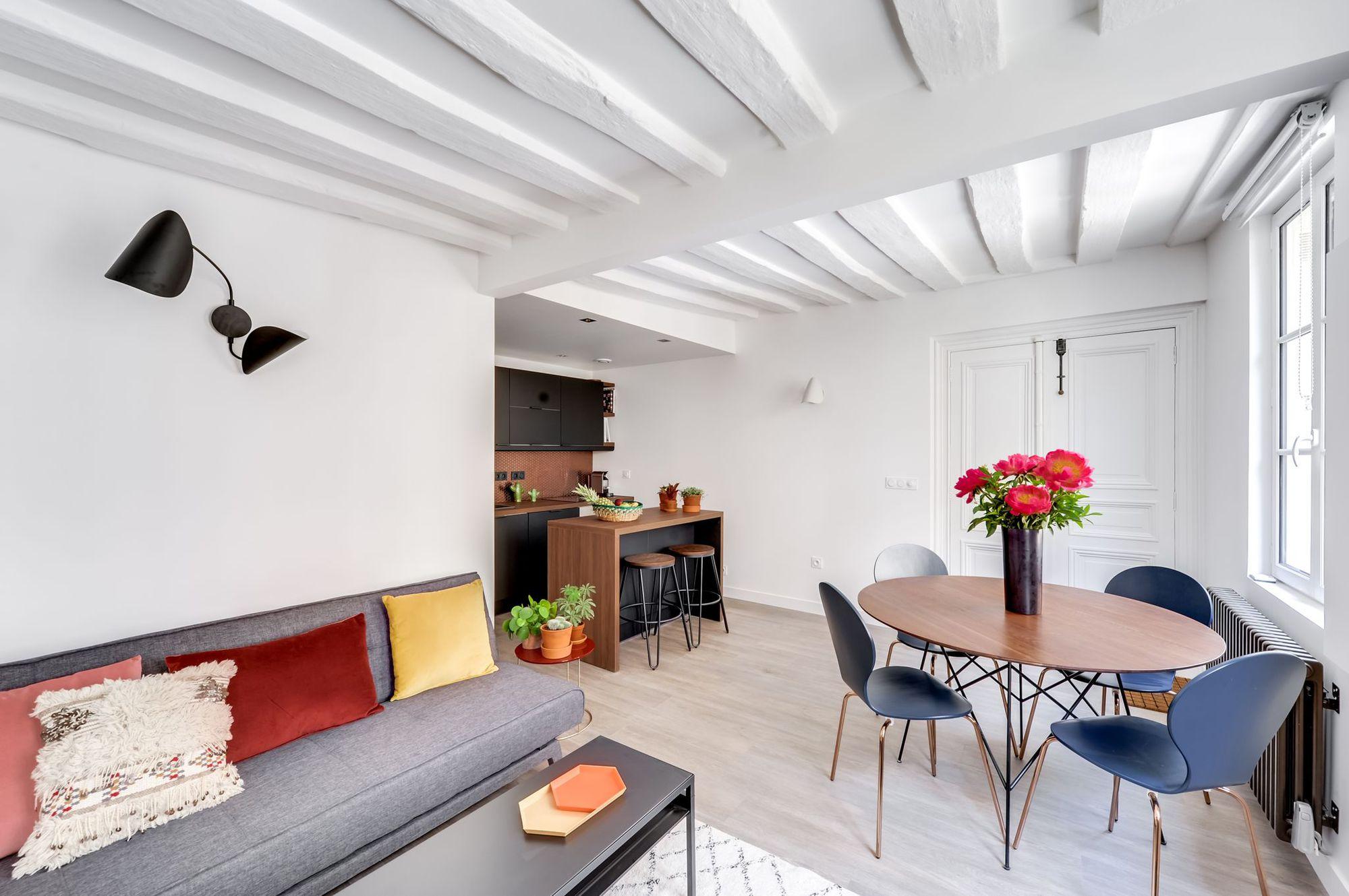 avant apr s la m tamorphose d 39 un 40 m2 dans les yvelines page 2 sur 3. Black Bedroom Furniture Sets. Home Design Ideas