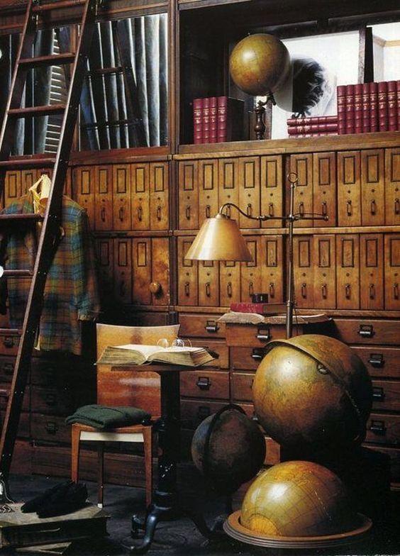 5 r gles suivre pour r aliser une d co steampunk des id es. Black Bedroom Furniture Sets. Home Design Ideas