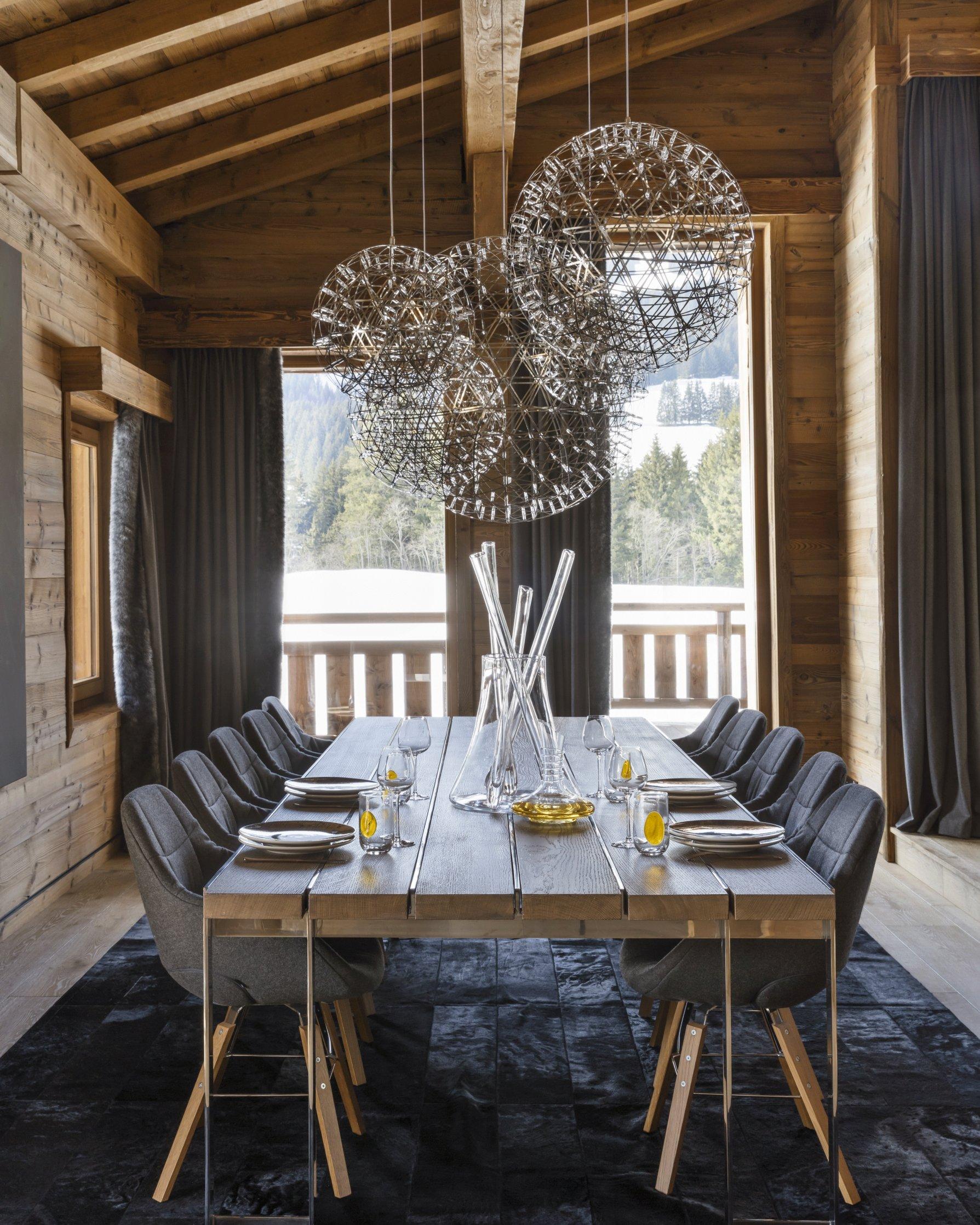 venez d couvrir un somptueux chalet contemporain sur les hauteurs de meg ve des id es. Black Bedroom Furniture Sets. Home Design Ideas