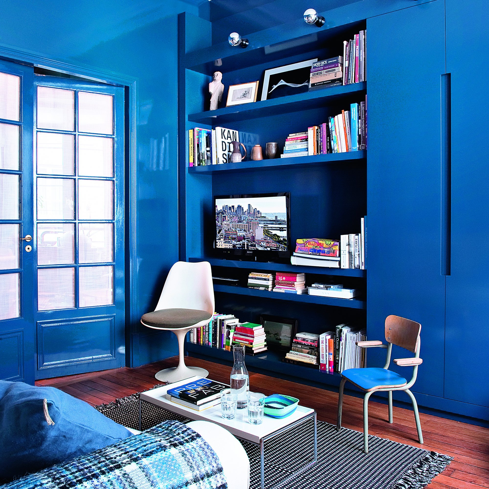 22 inspirations pour colorer son int rieur page 2 sur 5 des id es. Black Bedroom Furniture Sets. Home Design Ideas