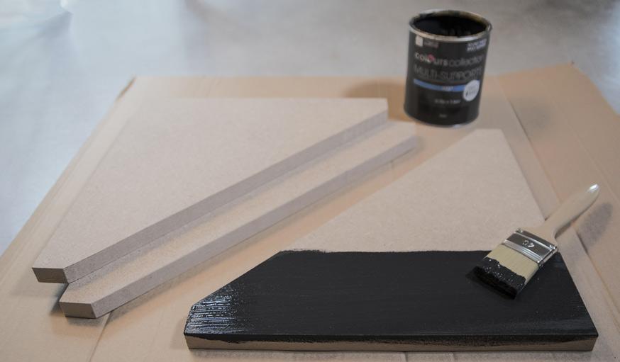 tuto confectionnez une table basse de style japandi des id es. Black Bedroom Furniture Sets. Home Design Ideas