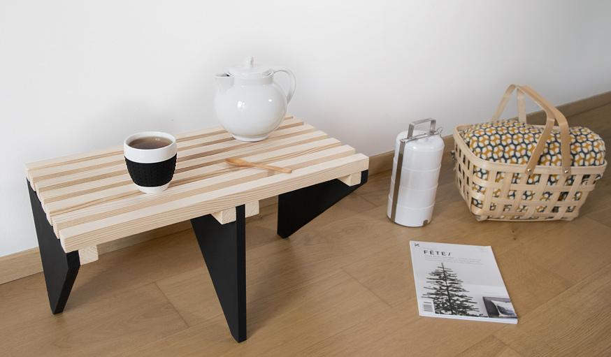 tuto confectionnez une table basse de style japandi page 3 sur 3 des id es. Black Bedroom Furniture Sets. Home Design Ideas