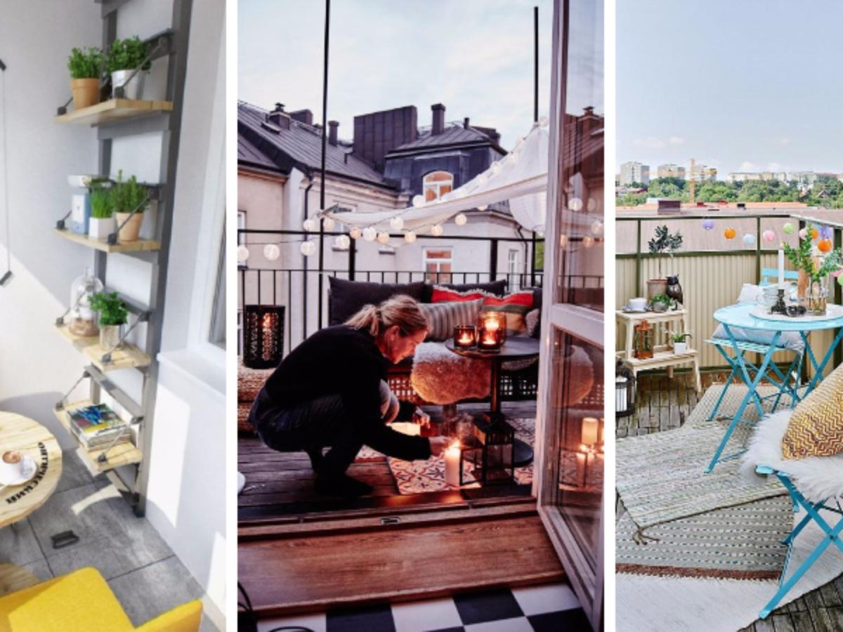 Table Pour Balcon Étroit 17 bonnes idées pour aménager un petit balcon