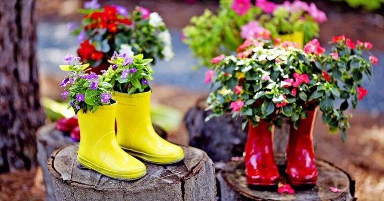 decoration-jardin-exterieur-pot-de-plante-original - Des idées