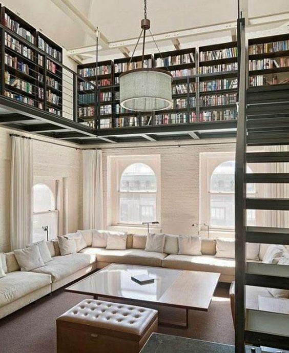 13 conseils pour aménager une pièce avec une belle hauteur ...