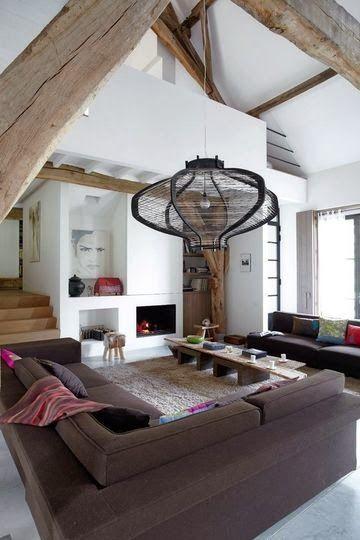 13 conseils pour aménager une pièce avec une belle hauteur sous plafond