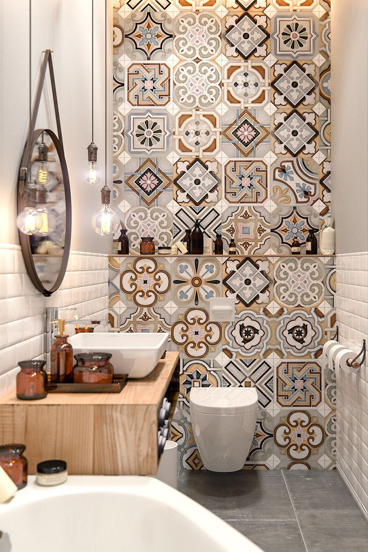 Carreau De Ciment Toilette 17 décorations de toilettes qui devraient vous inspirer