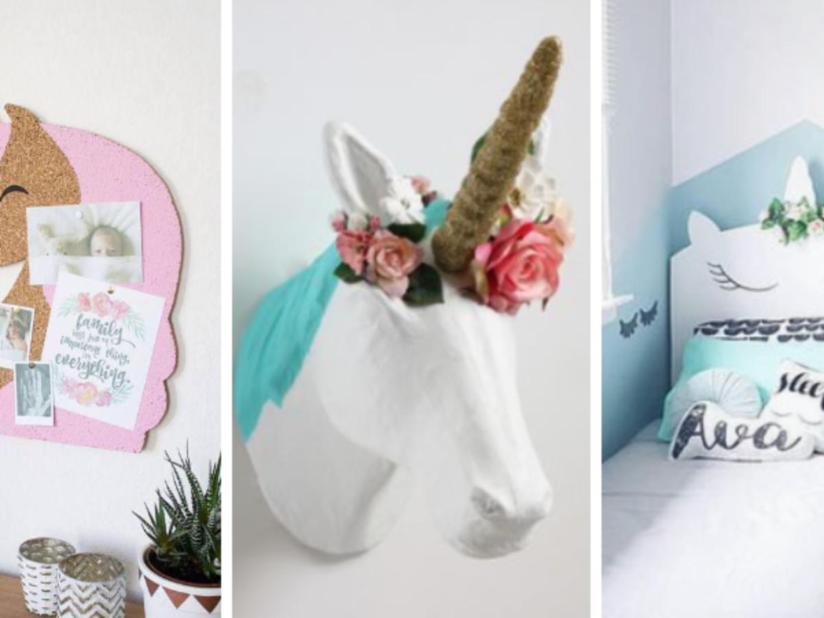 19 inspirations pour réaliser une chambre sur le thème des licornes