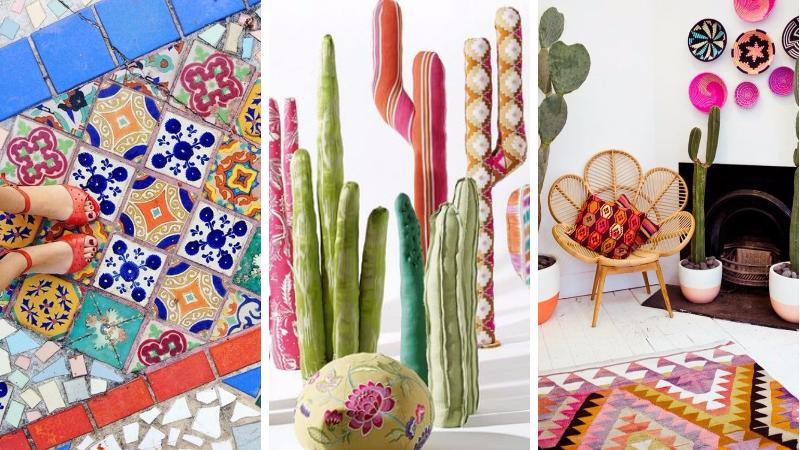 18 inspirations pour r aliser une d coration mexicaine chez soi. Black Bedroom Furniture Sets. Home Design Ideas