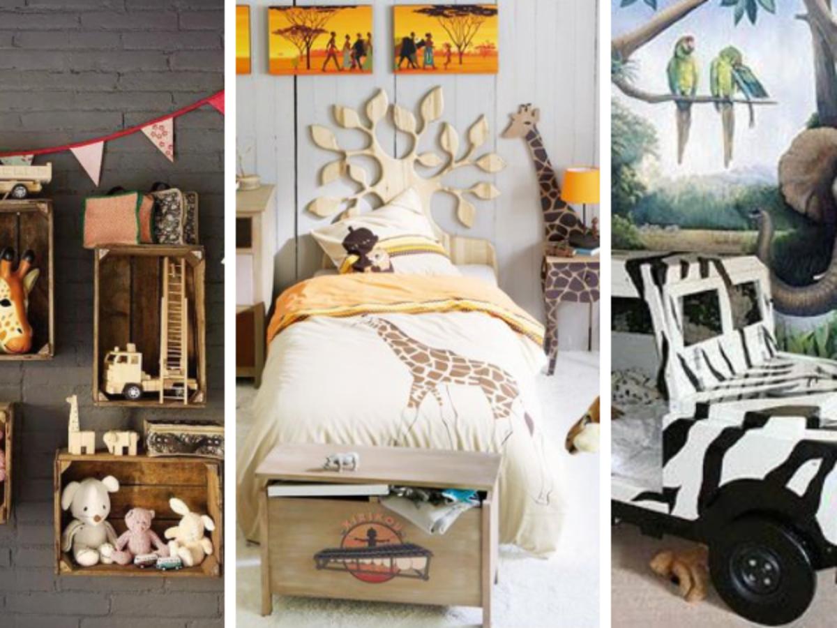 12 idées pour une chambre d'enfant sur le thème du safari et de la ...