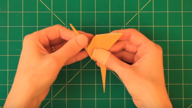 Tuto Realisez Un Flamant Rose En Origami Des Idees