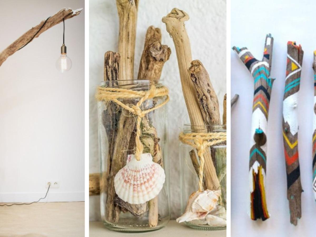 Que Faire Avec Bois Flotté bois flotté : 21 inspirations pour l'intégrer dans votre