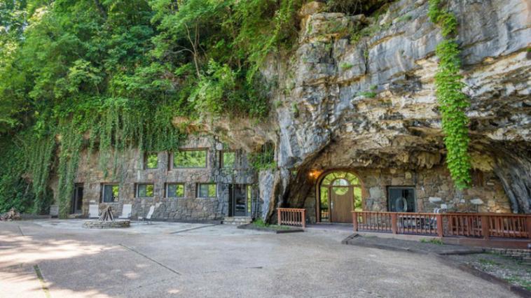 grotte luxueuse