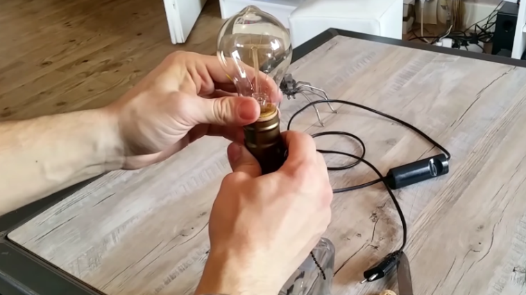 whisky lampe