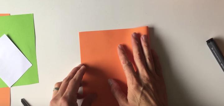 citrouille papier