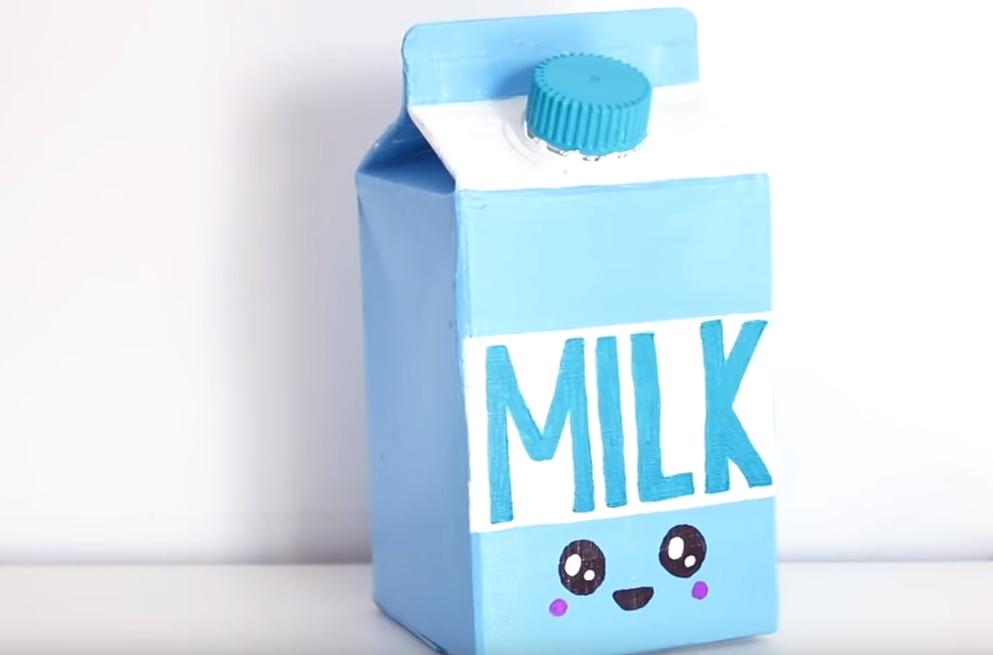 brique de lait kawaii