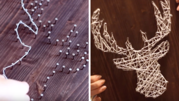cadre 3D de Noël