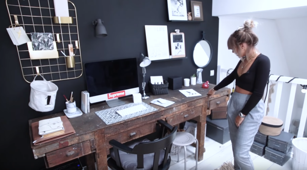 visite appartement blogueuse