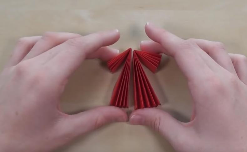 ange Noel origami