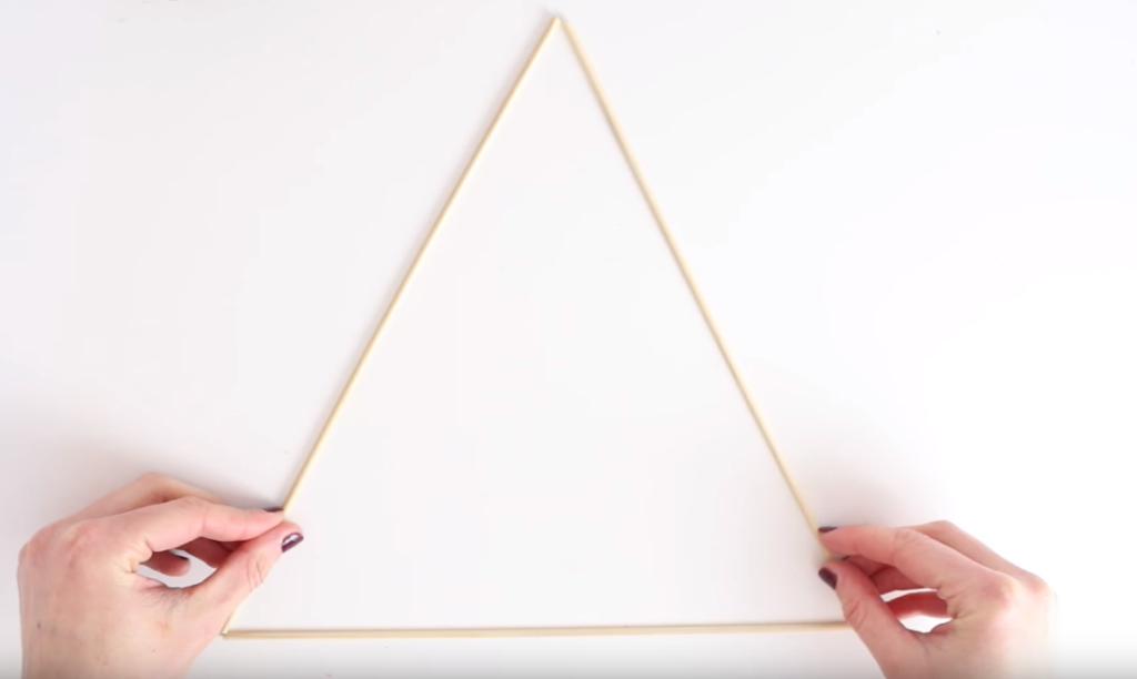Tuto triangle mural