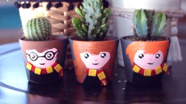 Tuto Harry Potter cactus