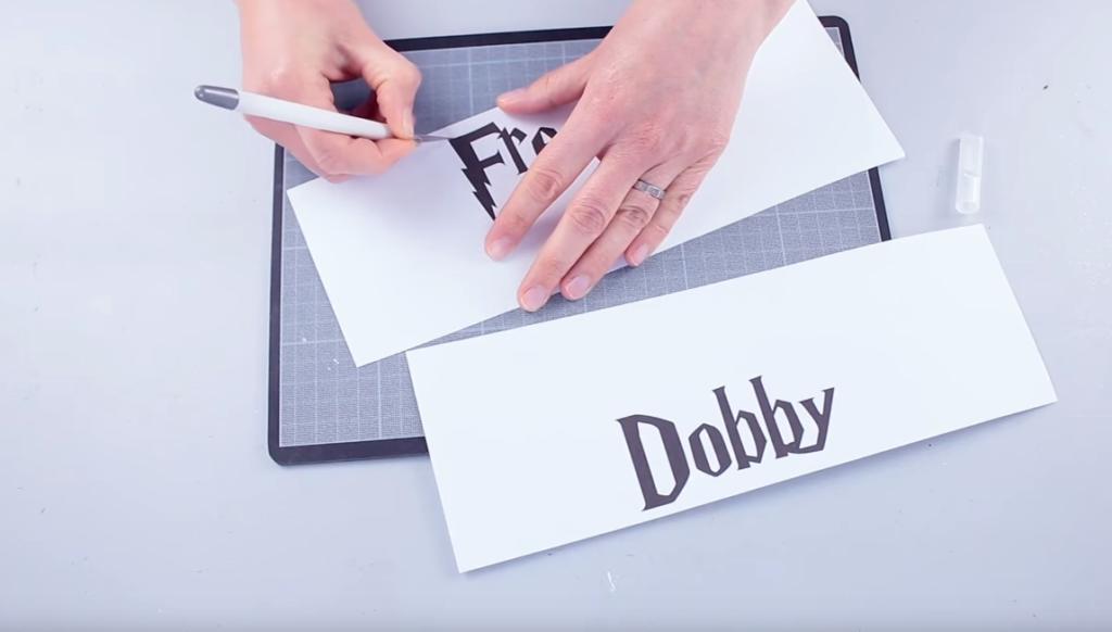 Tuto Harry Potter Dobby