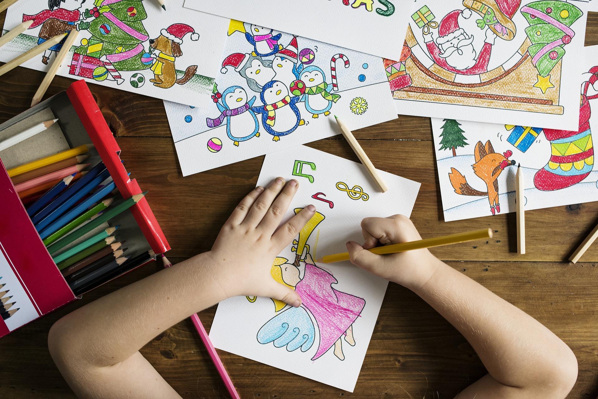 colorier coloriage bricolage enfants