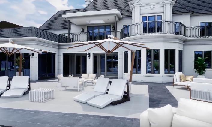 visite virtuelle villa luxueuse Toronto
