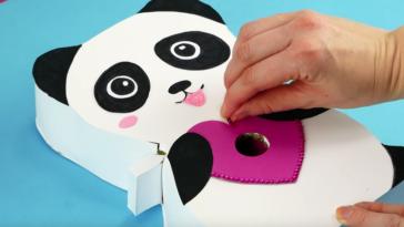 distributeur de bonbons panda