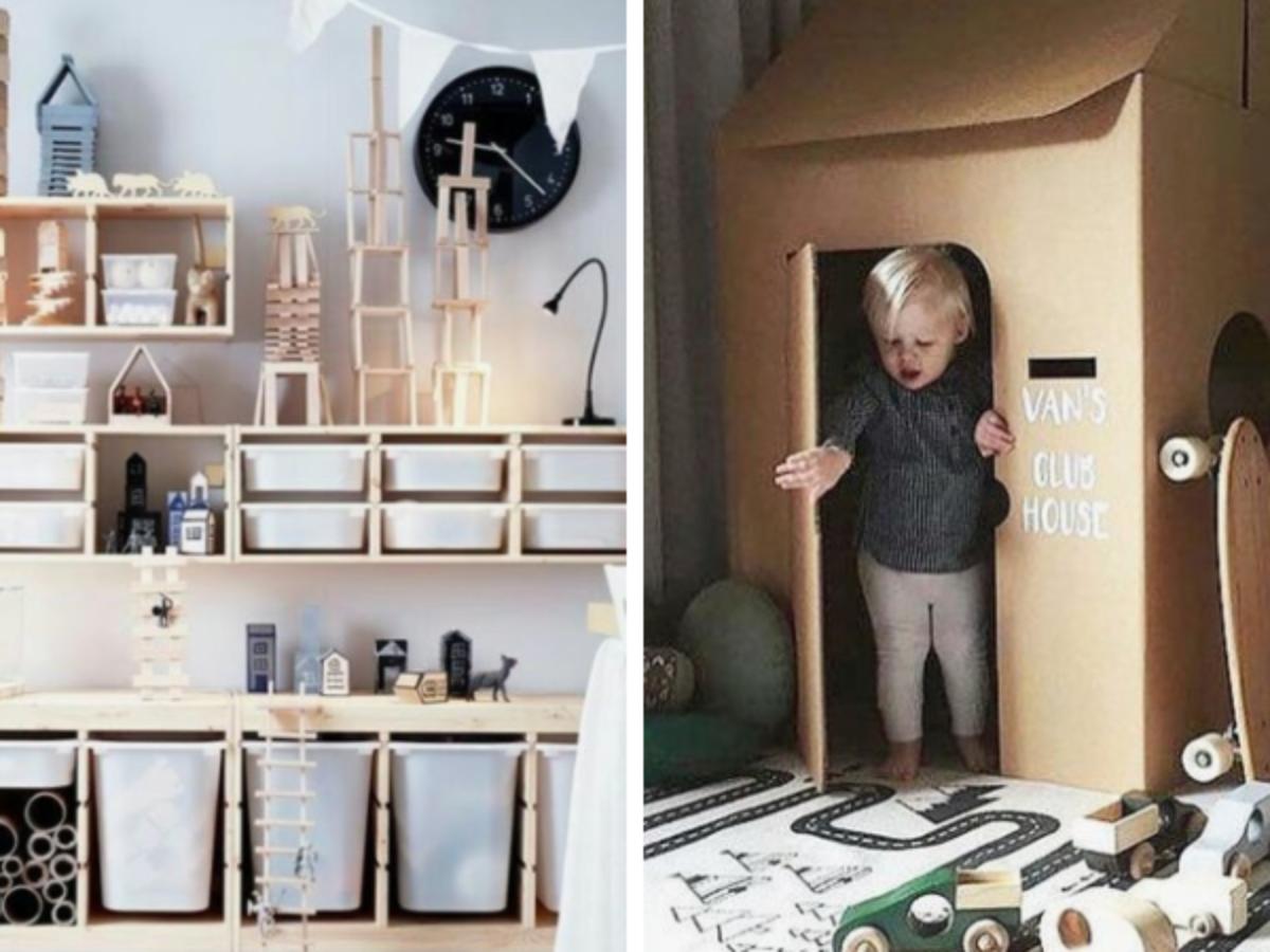 Jeux Rangement De La Maison 10 idées pour aménager une salle de jeux