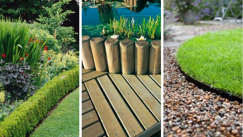 Aménagement de jardin : 19 bordures pour soigner votre ...