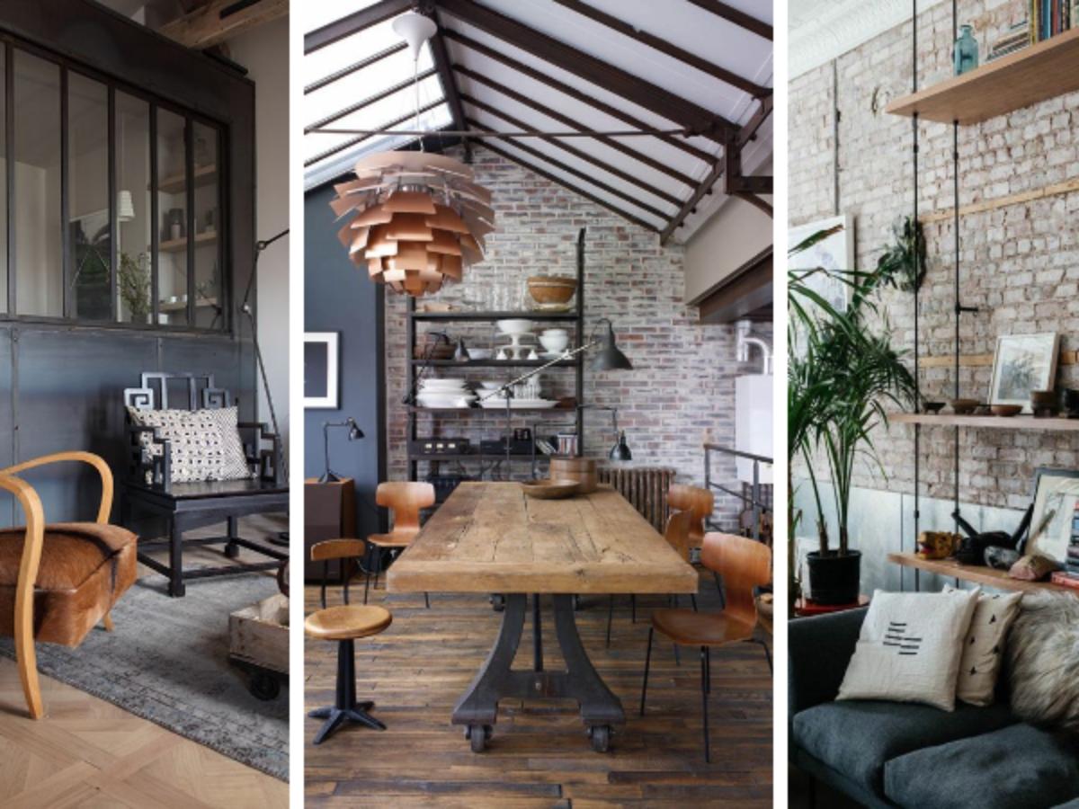 Idée Déco Appartement Jeune décoration industrielle : 14 appartements pour vous inspirer